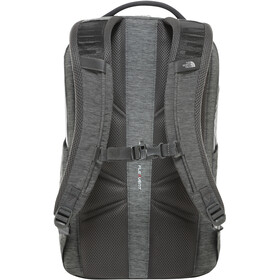 The North Face Vault Sac à dos, asphalt grey dark heather/zinnia orange